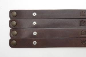 Kožený náramek - Bojovník (220 mm)