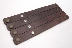 Kožený náramek - Odhodlání (240 mm)